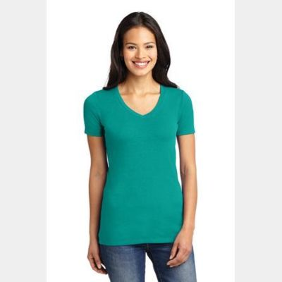Ladies Concept Stretch V Neck Tee Thumbnail