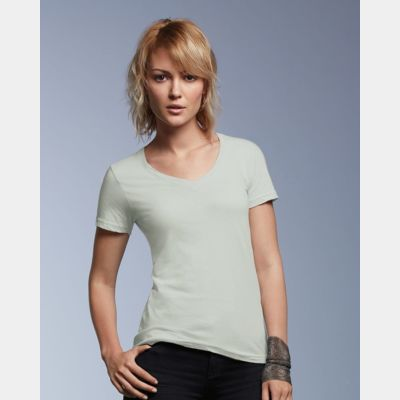 Women's Featherweight V-Neck T-Shirt Thumbnail
