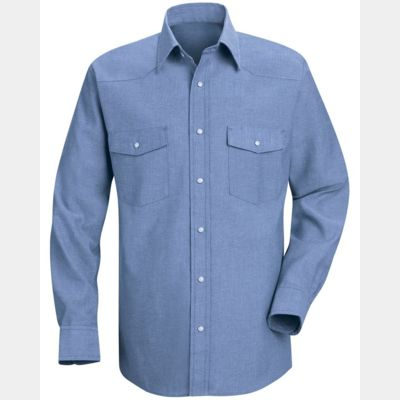 Deluxe Western Style Long Sleeve Shirt Thumbnail