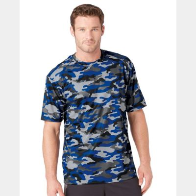 Camo Short Sleeve T-Shirt Thumbnail