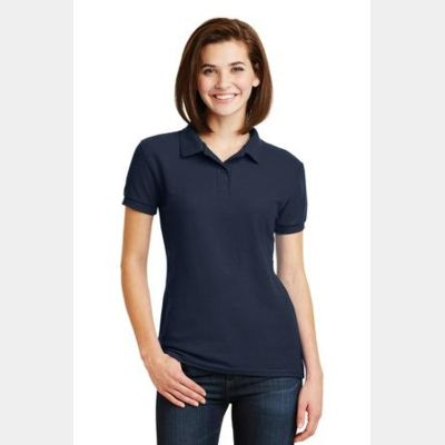 Ladies DryBlend ® 6 Ounce Double Pique Sport Shirt Thumbnail