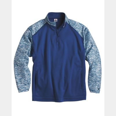 Blend Sport Performance Fleece Quarter-Zip Pullover Thumbnail