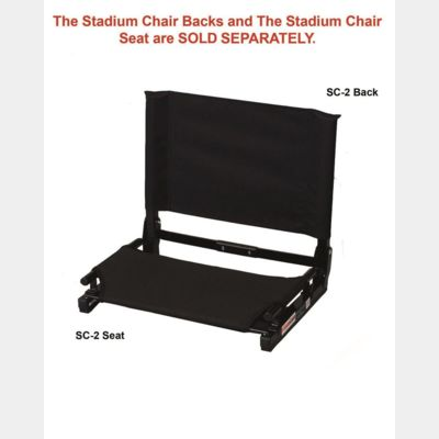 Folding Stadium Chair Seat Thumbnail