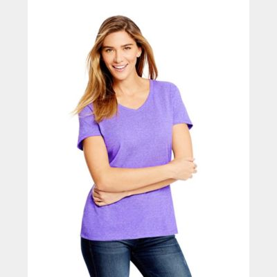 Women's Premium Triblend V-Neck Short Sleeve T-Shirt Thumbnail