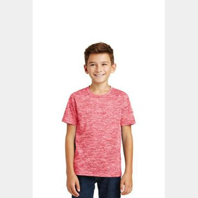 Youth PosiCharge ® Electric Heather Tee Thumbnail
