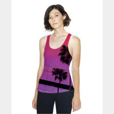Women's Sublimation Racerback Tank Thumbnail