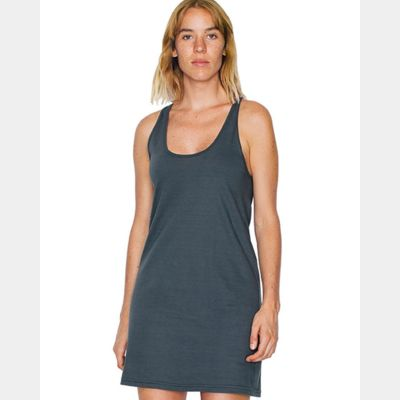 Women's Fine Jersey Racerback Tank Dress Thumbnail