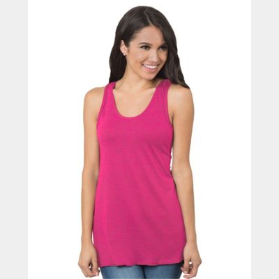 Women's Tri-Blend Razor Back Tank Top Thumbnail