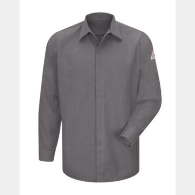 Concealed-Gripper Pocketless Long Sleeve Shirt - CoolTouch® 2 Thumbnail