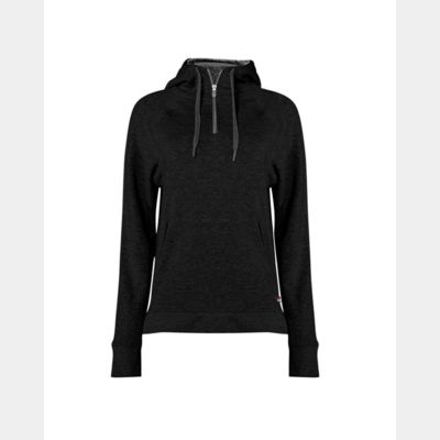 Women's Fitflex French Terry Hooded Quarter-Zip Thumbnail