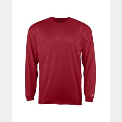 Youth Line Embossed Long Sleeve Tee Thumbnail