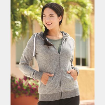 Cozy Fleece Women's Full-Zip Hooded Sweatshirt Thumbnail