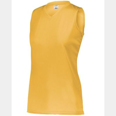 Girls' Sleeveless Wicking Attain Jersey Thumbnail