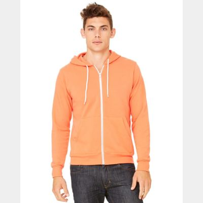 Unisex Full-Zip Hooded Sweatshirt Thumbnail